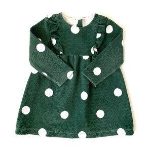 Zara Baby Girl Dot Ruffle Dress